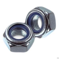Гайка со стопорным кольцом DIN 985 М 6