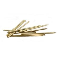 Гвозди финишные латунированные, бронзированные, омедненные 1,4х50