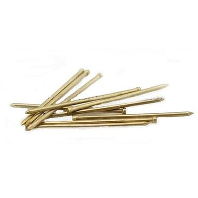 Гвозди финишные латунированные, бронзированные, омедненные 1,2х25, кг.