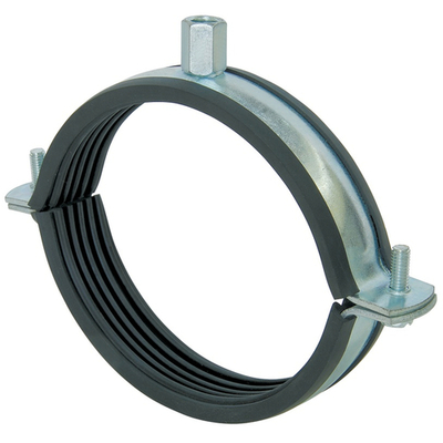 Хомут для воздуховода с резиновым профилем D 100, шт.