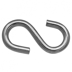 Крюк S-образный оцинкованный 7мм