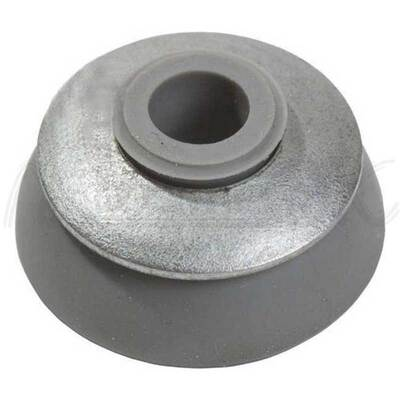 Шайба для монтажа поликарбоната серая, 25 мм